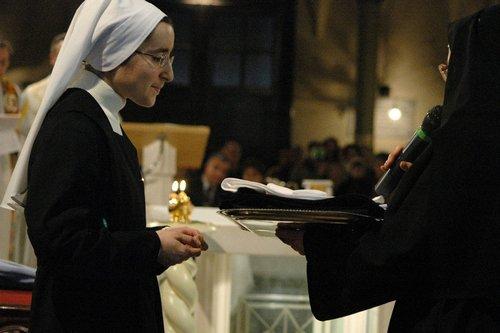 Consegna dell'abito monastico